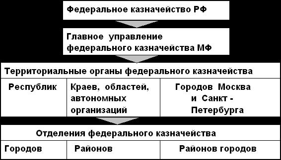Структура органов федерального